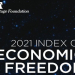 Montenegro's economic freedom score advanced by 11 places