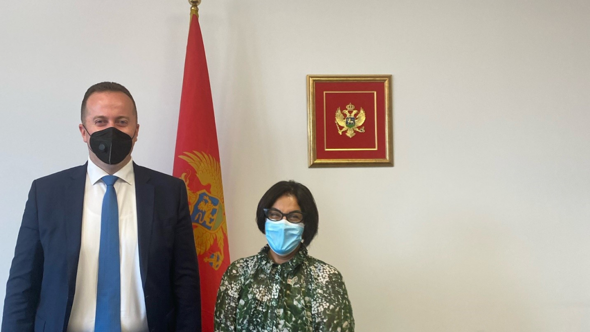 Investment Agency presents Montenegrin investment potentials and programs to the Embassy of the United Arab Emirates