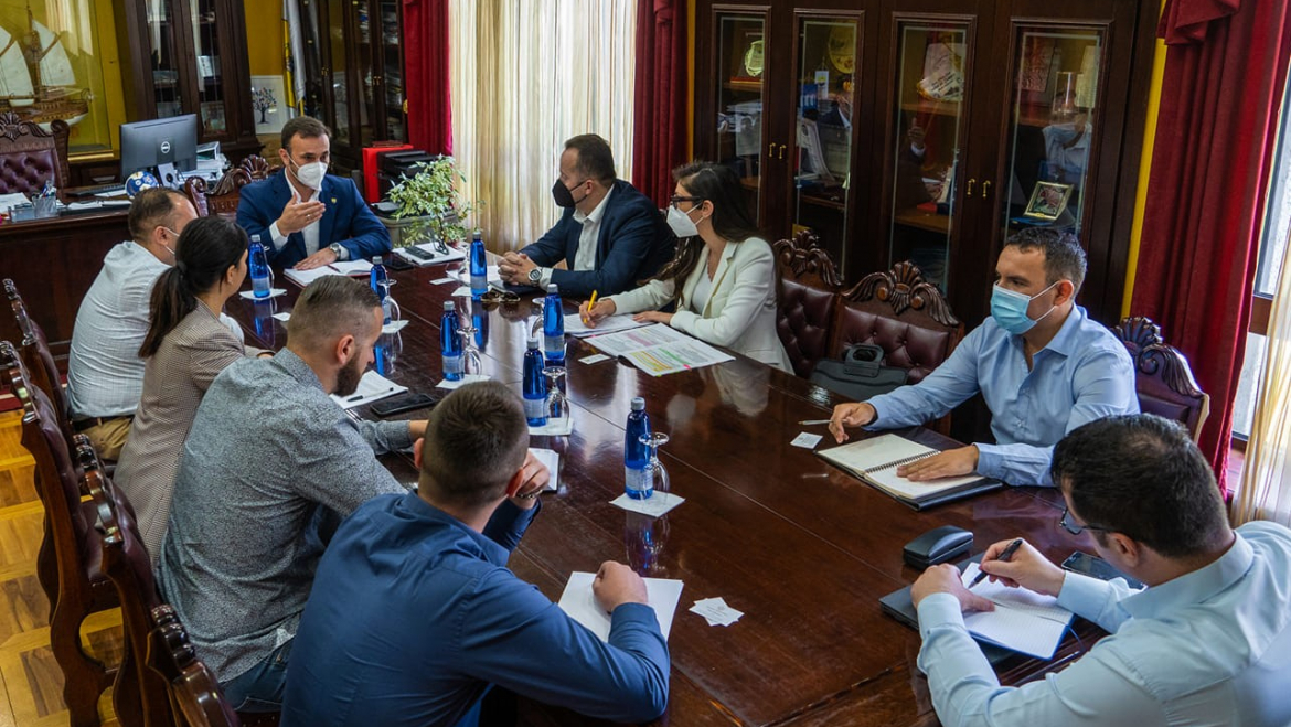Working session with representatives of the Municipality of Ulcinj on the implementation of the Law on Public-Private Partnership