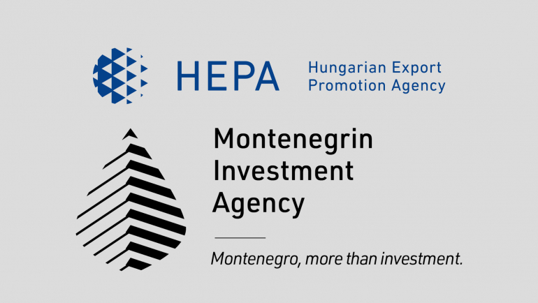 Memorandum of Understanding signed between the Montnegrin Investment Agency and the Hungarian Export Promotion Agency (HEPA)
